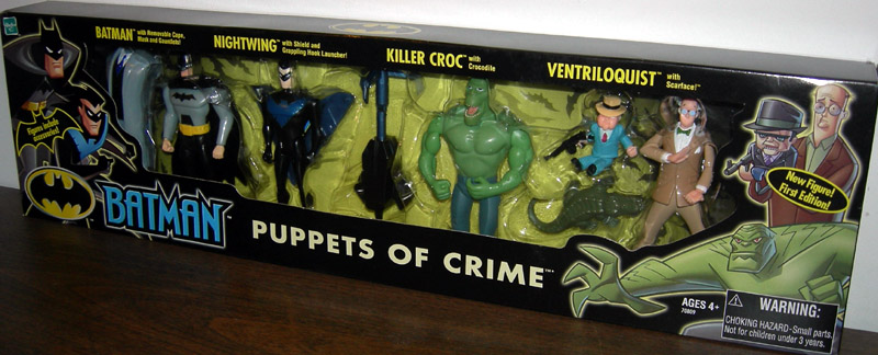 Puppets of Crime 4-Pack