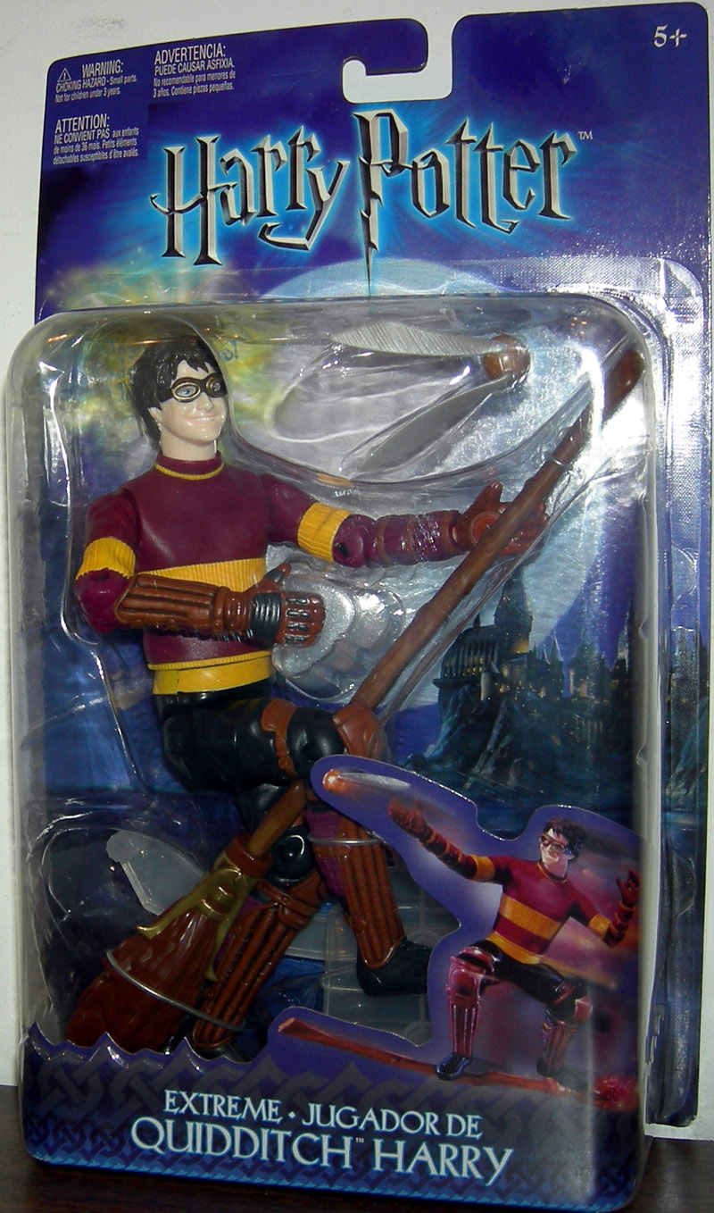 Extreme Quidditch Harry Potter Figure