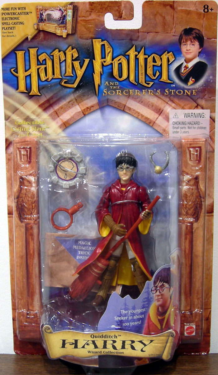 Best Harry Potter Toys And Figures : Quidditch harry potter wizard collection sorcerers stone