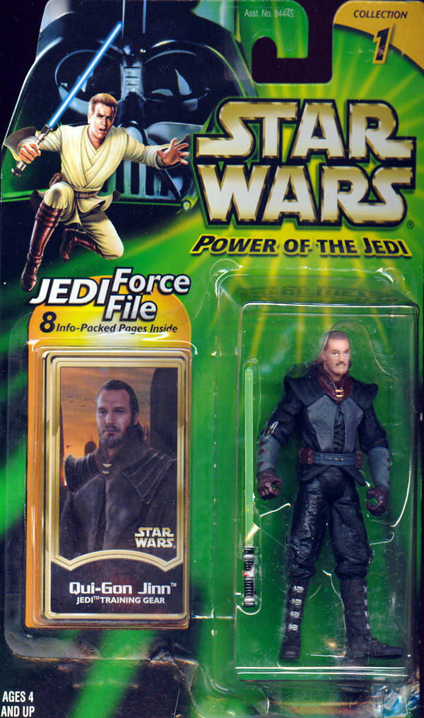 Qui-Gon Jinn (Jedi Training Gear)