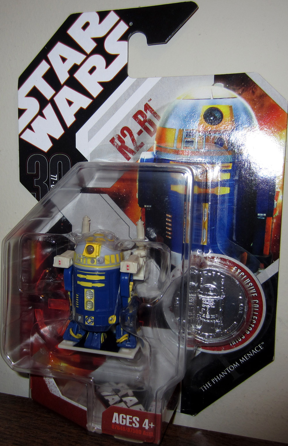 R2-B1 (30th Anniversary, with coin)