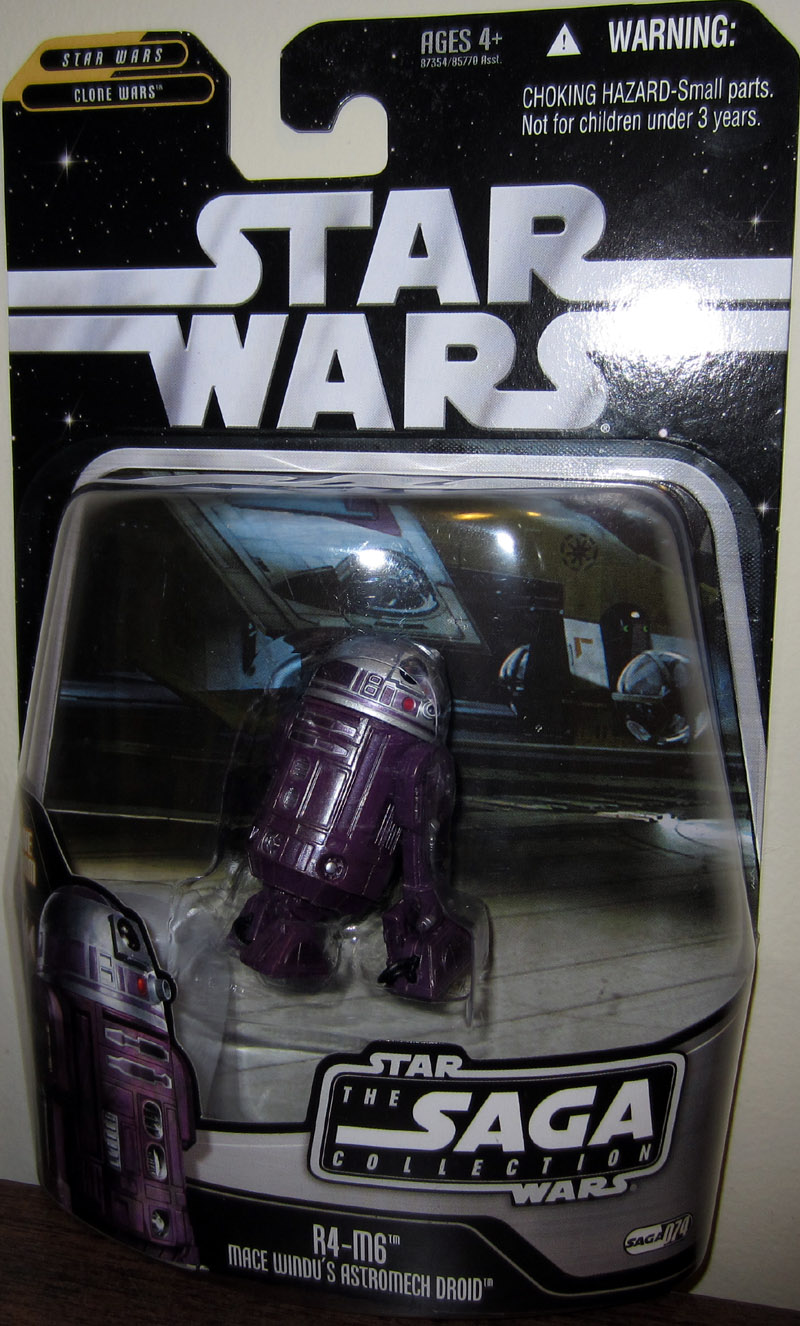 R4-M6 Mace Windu's Astromech Droid (The Saga Collection, #074)