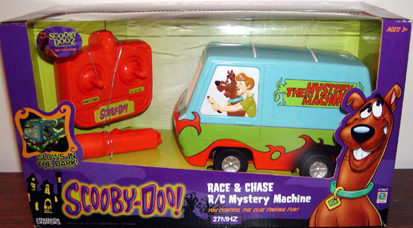 Race chase rc mystery machine - Race de scooby doo ...