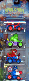 Race Car Buddies 4-Pack