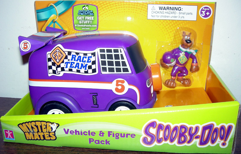 Race Team Van & Scooby Set (Mystery Mates)