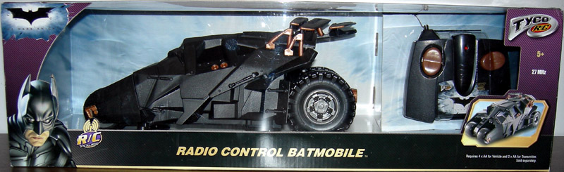 Radio Control Batmobile (The Dark Knight, large packaging)