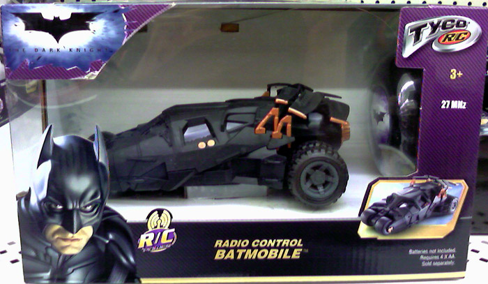 Radio Control Batmobile (The Dark Knight, small packaging)