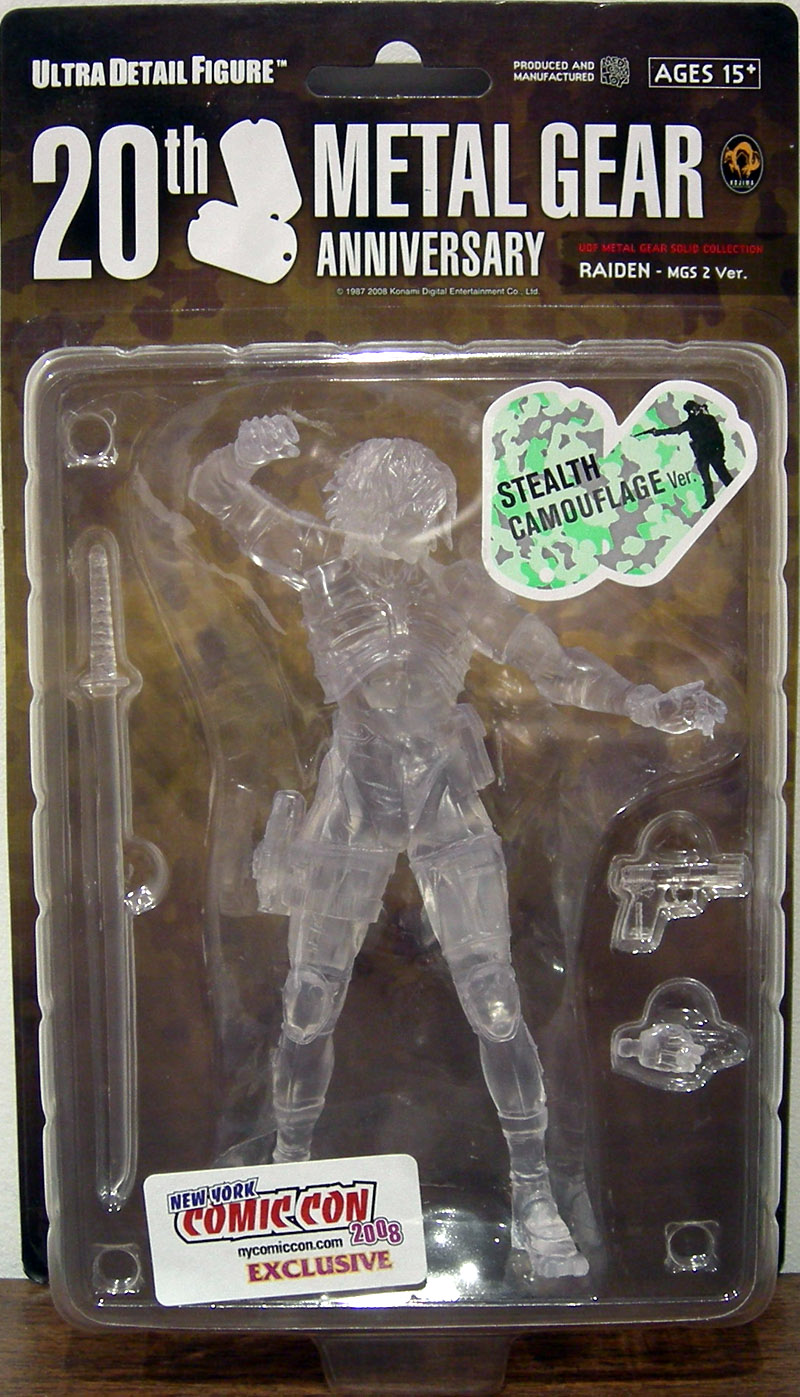 Raiden (20th Anniversary Stealth Camouflage Version)