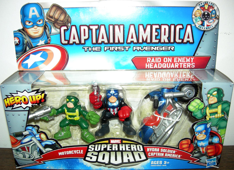 Raid on Enemy Headquarters 3-Pack (Super hero Squad)