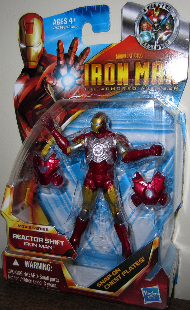 Iron Man Reactor Shift (Armored Avenger, Movie Series, 43)