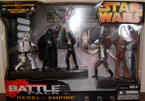 Rebel vs. Empire Battle 5-Pack