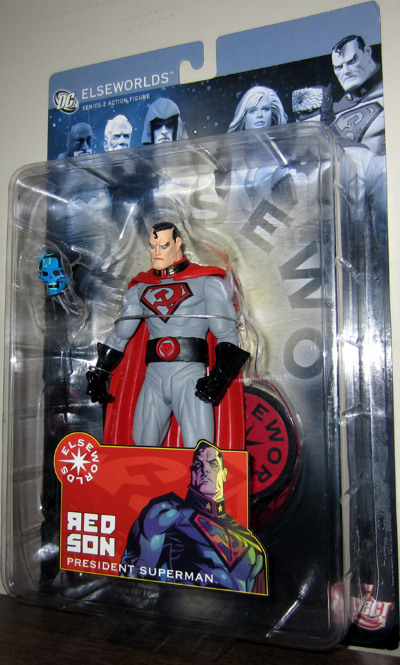 Red Son President Superman Elseworlds Series 2 Action Figure