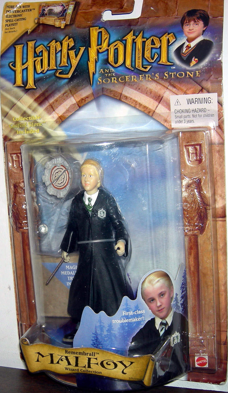 Remembrall Malfoy (with Slytherin robe crest)