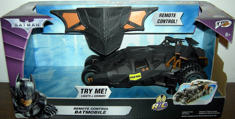 Remote Control Batmobile (The Dark Knight, 1:24 scale)