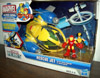 Rescue Jet with Wolverine & Iron Man (Playskool Heroes)