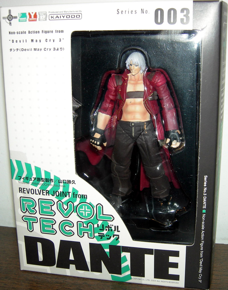 Revoltech Devil May Cry 3 Dante