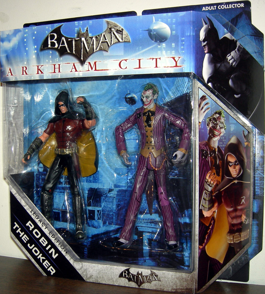 Robin & The Joker (DC Universe, Legacy Edition, Arkham City)