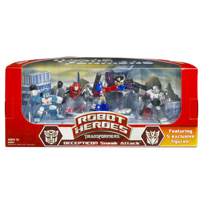 Transformers Robot Heroes (Decepticon Sneak Attack)