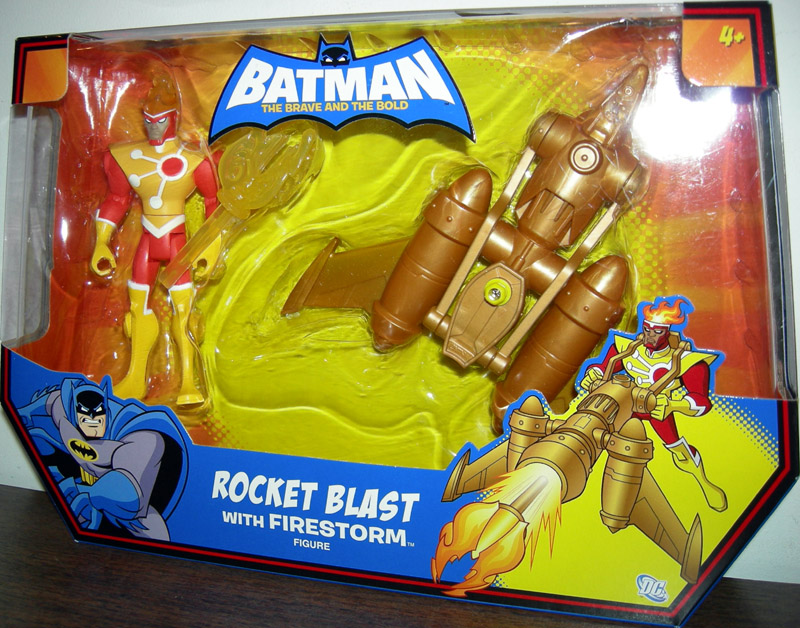 Rocket Blast with Firestorm