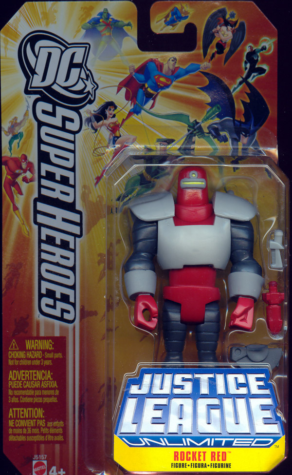 Rocket Red (DC SuperHeroes Justice League Unlimited)