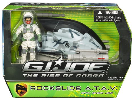 Rockslide A.T.A.V. with Snow Job (The Rise of Cobra)