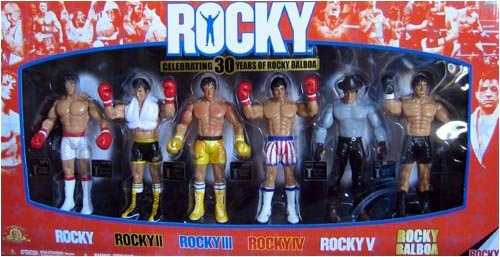 Celebrating 30 Years of Rocky Balboa 6-Pack