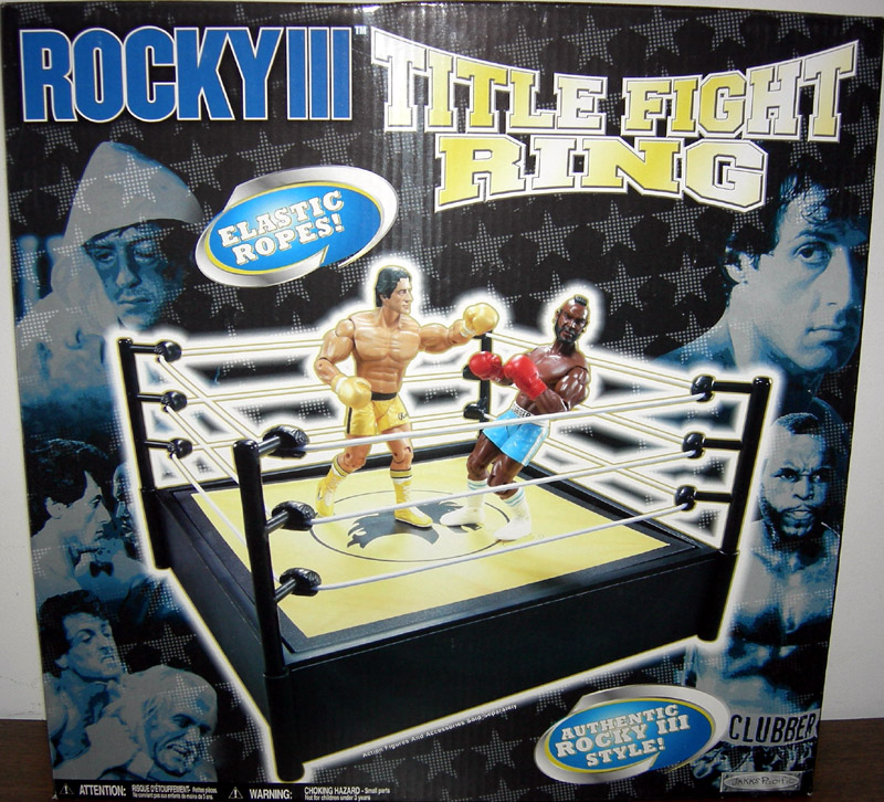Rocky III Title Fight Ring