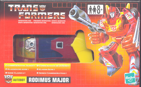 Rodimus Major (Commemorative Series I, UK box)