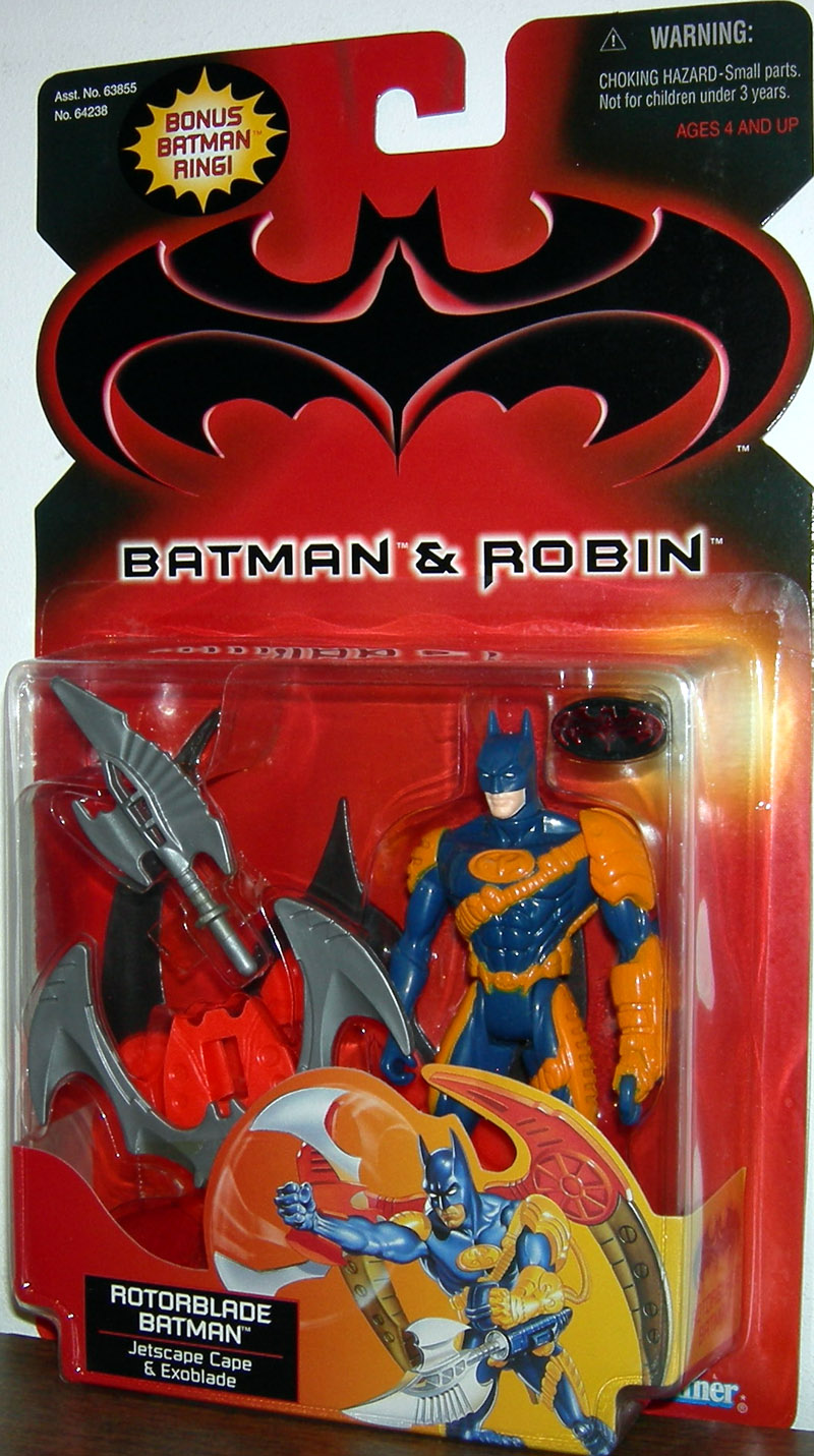 Rotorblade Batman (Batman & Robin, with bonus Batman ring)