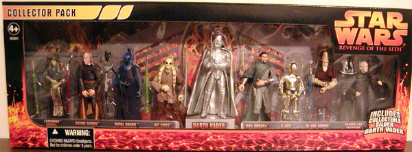 Revenge of the Sith Collector 9-Pack