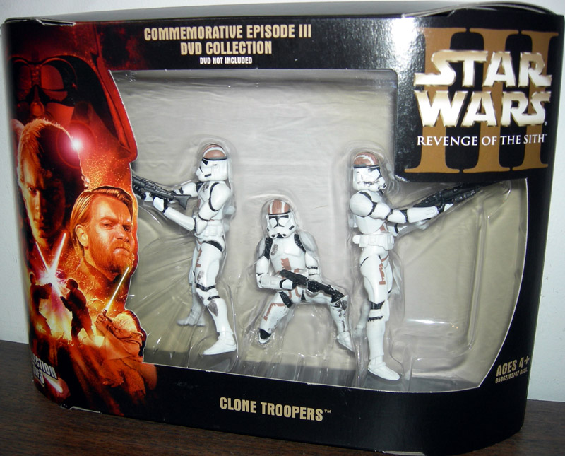 Revenge of the Sith DVD 3-Pack (Clone Troopers Collection 3 of 3)