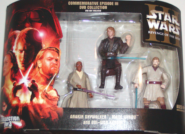 Revenge of the Sith DVD 3-Pack (Jedi Knights Collection 1 of 3)