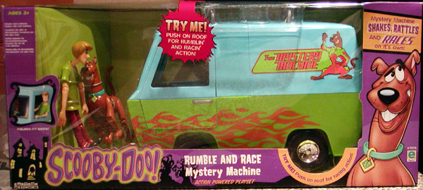 Rumble and Race Mystery Machine
