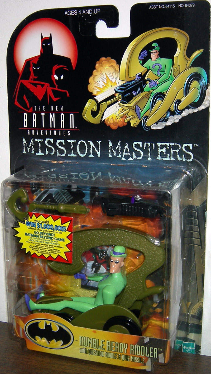 Rumble Ready Riddler (Mission Masters)