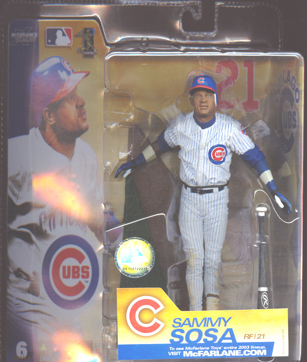 Sammy Sosa (with pinstripe uniform)
