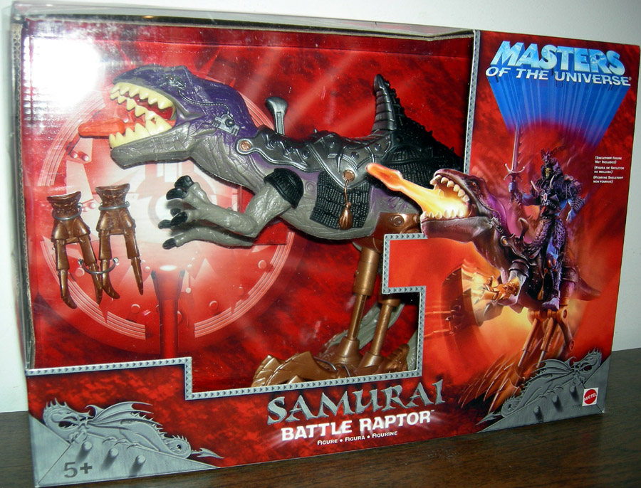 Samurai Battle Raptor Figure