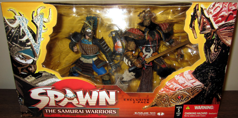 The Samurai Warriors 2-Pack