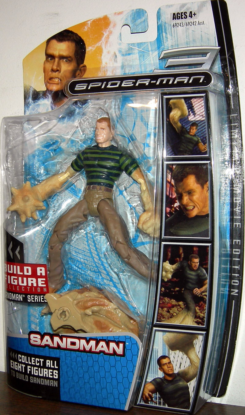Sandman Build Sandman Series Spider-Man 3 action figure