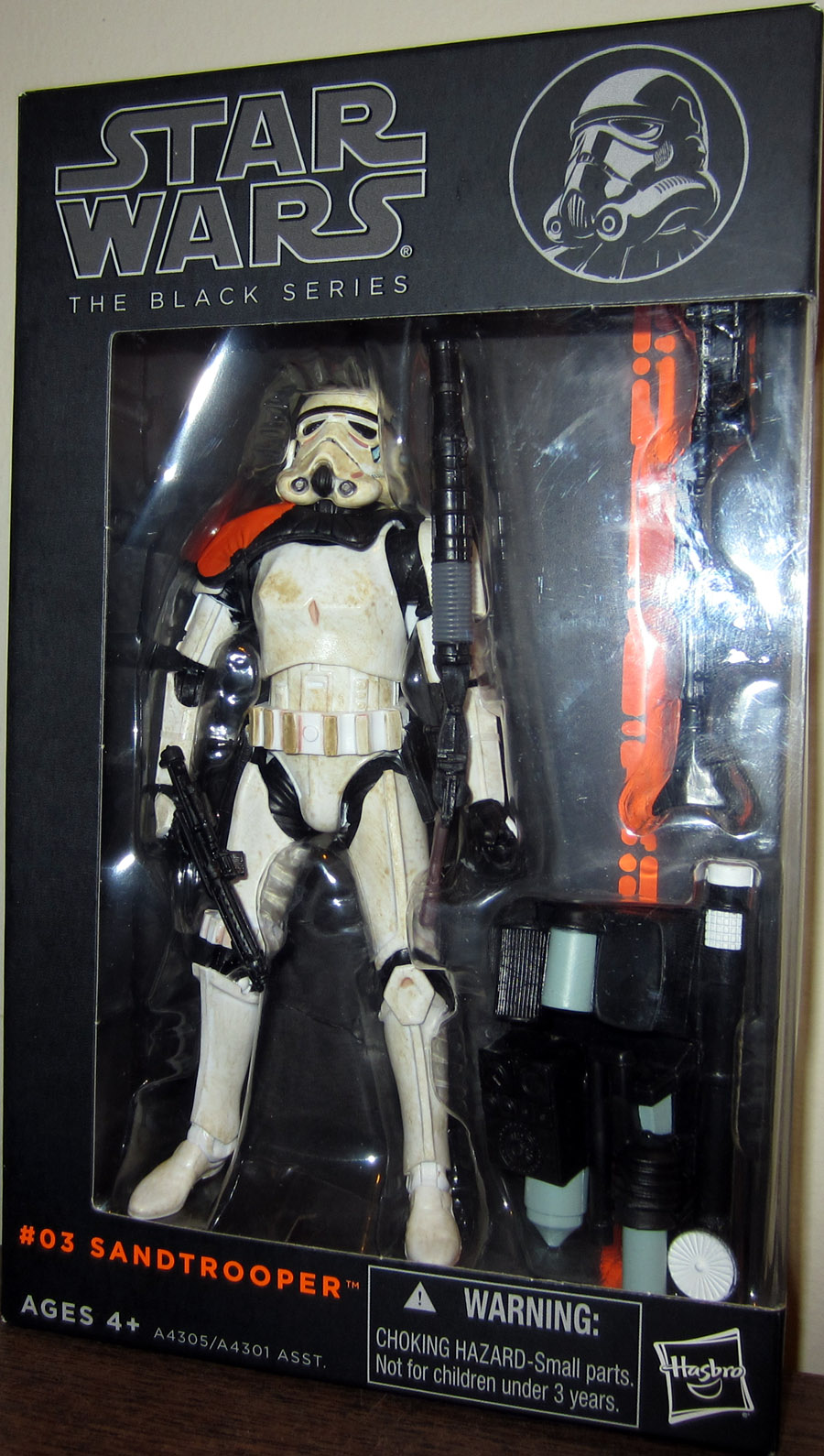 Sandtrooper (The Black Series, #03)