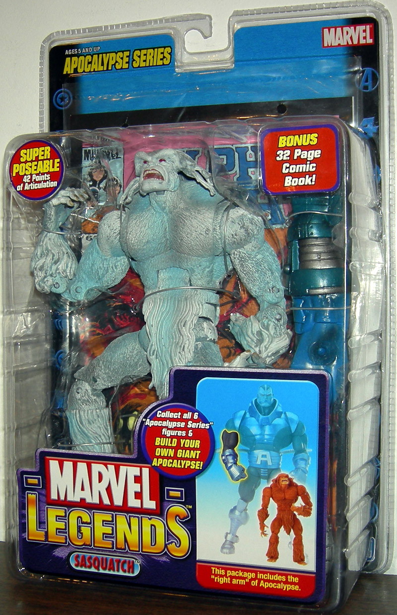 Sasquatch (Marvel Legends, variant)
