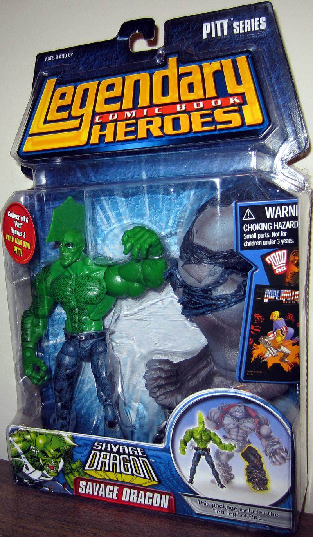 Savage Dragon Legendary Comic Book Heroes, no shirt