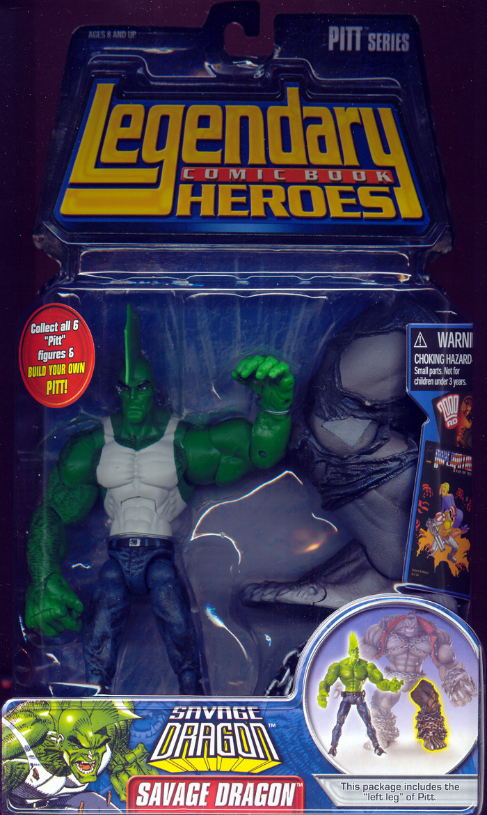 Savage Dragon (Legendary Comic Book Heroes, with shirt)