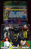 Scarlett, Snake Eyes and Tracker Kwinn 3-Pack