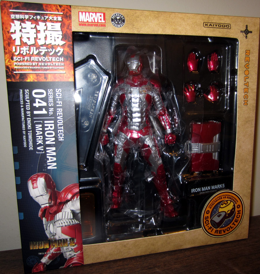 Iron Man Mark V 5 (Sci-Fi Revoltech)
