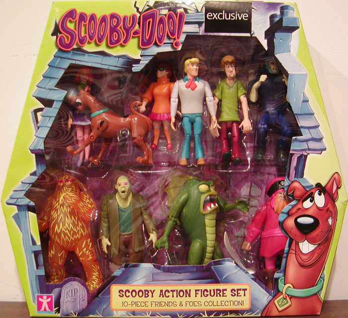 Scooby-Doo Action Figure Set 10-Pack