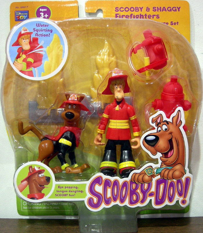 Scooby & Shaggy 2-Pack (Firefighters)