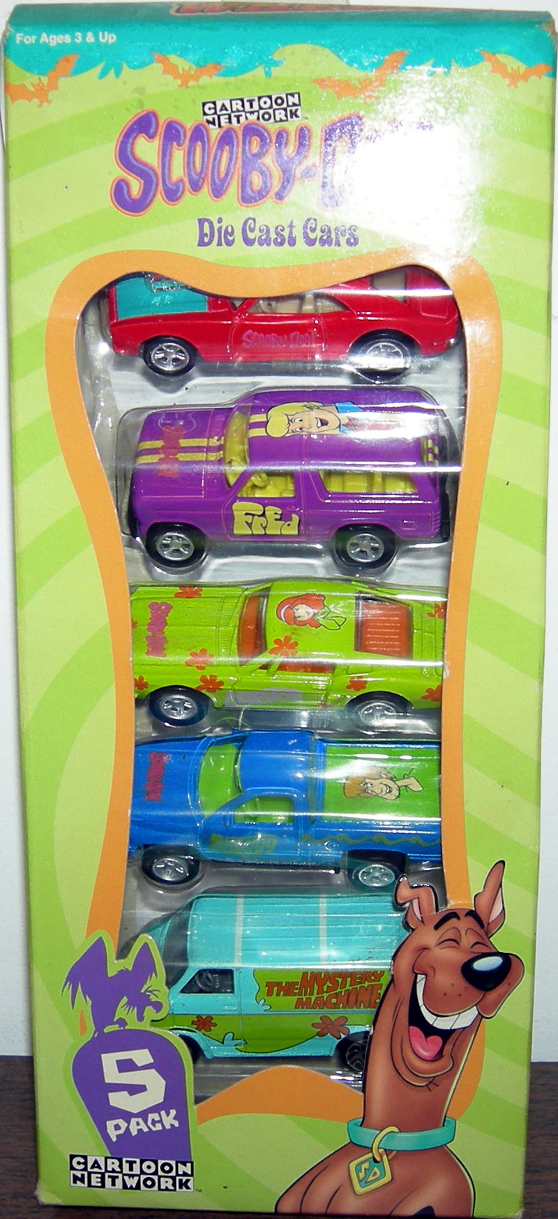 Scooby-Doo Die Cast Cars 5-Pack