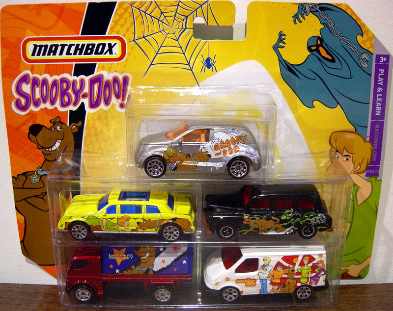Scooby-Doo Matchbox 5-Pack