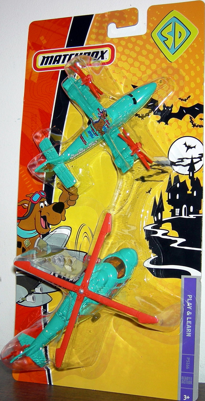 Scooby-Doo Fire Patrol Airplane & Helicopter 2-Pack