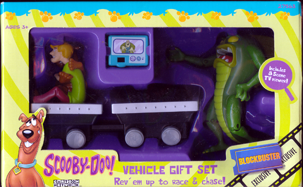 Scooby-Doo Vehicle Gift Set (with Beast of the Bottomless Lake)